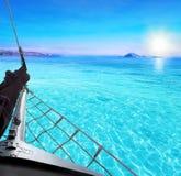 Alte Schiffsfahrt Stockfoto