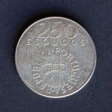 Alte Schilder der Münze 250 Stockfoto