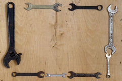 Alte Schlüssel Lizenzfreie Stockbilder