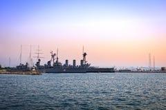 Alte Schlachtschiffe Lizenzfreie Stockfotografie