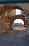 Alte Schlossruinen Stockfotos