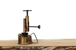 Alte Schmieröl-Lampe Stockfoto