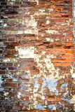 Alte Schmutz briack Wand lizenzfreie stockfotos