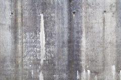 Alte Schmutzbetonmauer-Hintergrundbeschaffenheit Stockbild