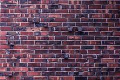 alte schmutzige Backsteinmauer mit Schmutzbeschaffenheit Stockfotografie