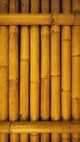 Alte schmutzige Bambushintergrundwand von der wirklichen Natur Lizenzfreie Stockfotografie