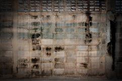 Alte schmutzige Betonmauer Lizenzfreie Stockfotografie