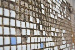 Alte schmutzige Wand Lizenzfreies Stockbild