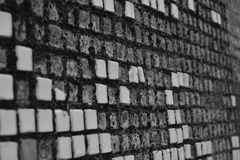 Alte schmutzige Wand Lizenzfreie Stockbilder