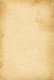 Alte Schmutzsegeltuch-Papierbeschaffenheit Stockbild