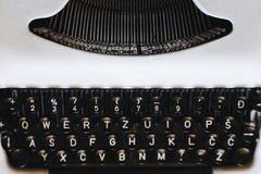 Alte Schreibmaschine lizenzfreie stockfotos