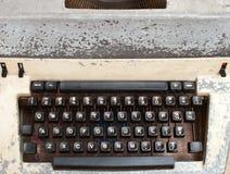 Alte Schreibmaschine. Lizenzfreie Stockbilder
