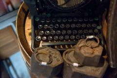 Alte Schreibmaschine Stockfoto