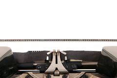 Alte Schreibmaschine des Details Lizenzfreie Stockfotos