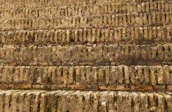 Alte Schritte des römischen Stadiums des Theaters Stockfoto