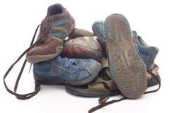 Alte Schuhe Lizenzfreies Stockfoto
