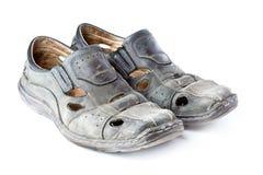 Alte Schuhe Stockfotos