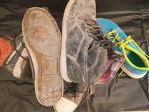 Alte Schuhe Lizenzfreie Stockbilder