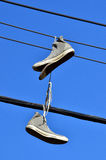 Alte Schuhe Stockbild