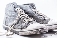 Alte Schuhe Lizenzfreies Stockbild