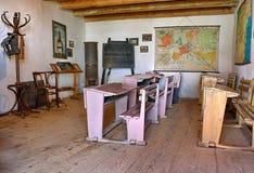 Alte Schule-Klassenzimmer Stockfotos