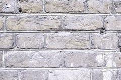 Alte schwarze Backsteinmauerbeschaffenheit für Hintergrund Lizenzfreies Stockbild