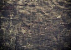Alte schwarze Metallplatte des Nahaufnahmeschmutzes als Hintergrundbeschaffenheit Lizenzfreies Stockbild