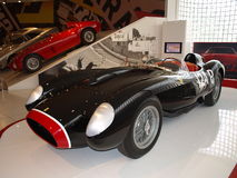 Alte schwarze Motor- Formel 1 Stockfotos