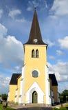 Alte schwedische Kirche Stockfotos