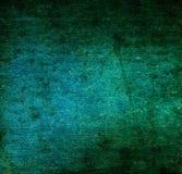 Alte Segeltuchbeschaffenheit oder -hintergrund des blauen Grüns Lizenzfreies Stockfoto