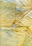 Alte Seidenpapier-Hintergrundbeschaffenheit Lizenzfreies Stockbild