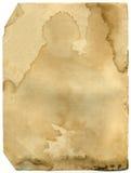 Alte Seite des antiken Buches Stockbild