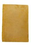 Alte Seite des braunen Papiers Stockfoto