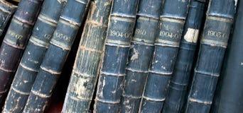 Alte seltene Bücher Stockfotografie