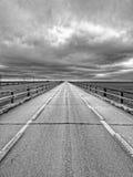 Alte sieben Meilen-Brücke Stockbild