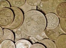 Alte Silbermünzen Lizenzfreies Stockbild