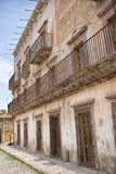 Alte silberne Stadt Real de Catorce Mexiko Stockfoto