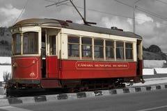 Alte Sintra-Tram stockbilder