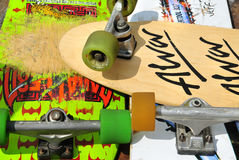 Alte Skateboards Stockfotos