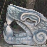 Alte Skulptur Lizenzfreies Stockbild