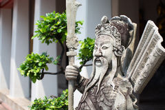 Alte Skulptur des Chinesen Stockbilder