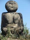 Alte Skulptur gebildet vom Stein Lizenzfreie Stockfotos