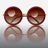 Alte Sonnenbrillen Stockfoto