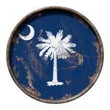 Alte South- Carolinaflagge Lizenzfreies Stockfoto