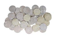 Alte sowjetische Münzen Stockbilder