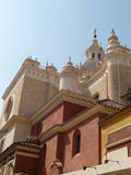 Alte spanische Kathedrale Lizenzfreie Stockfotos
