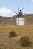 Alte spanische Windmühle Stockbilder