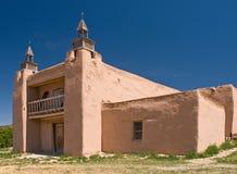 Alte spanish-amerikanische Kirche Stockfotos