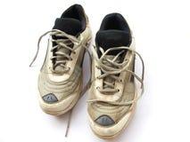 Alte Sport-Schuhe lizenzfreie stockfotos