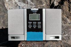 Alte Sprecher Gray Radio der Weinlese-zwei Lizenzfreie Stockbilder